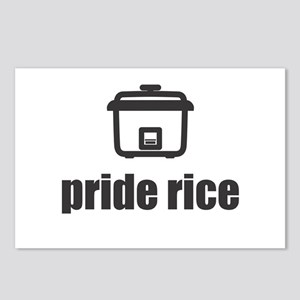 """""""Pride Rice"""" [Light] Postcards (Package of 8)"""
